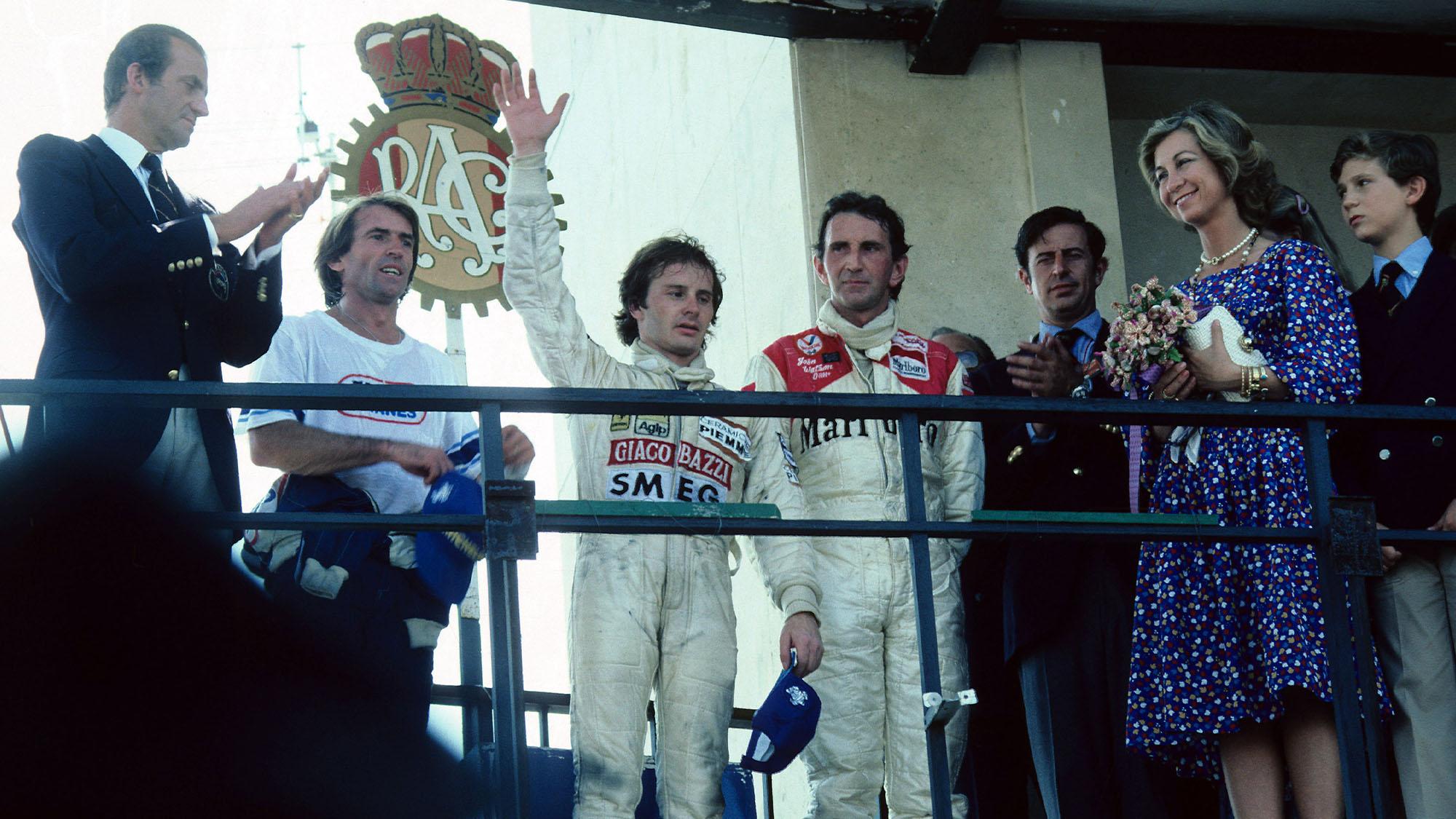 Villeneuve podium