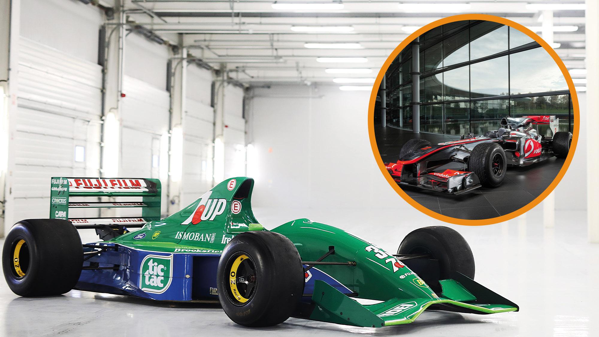 Jordan 191 and McLaren