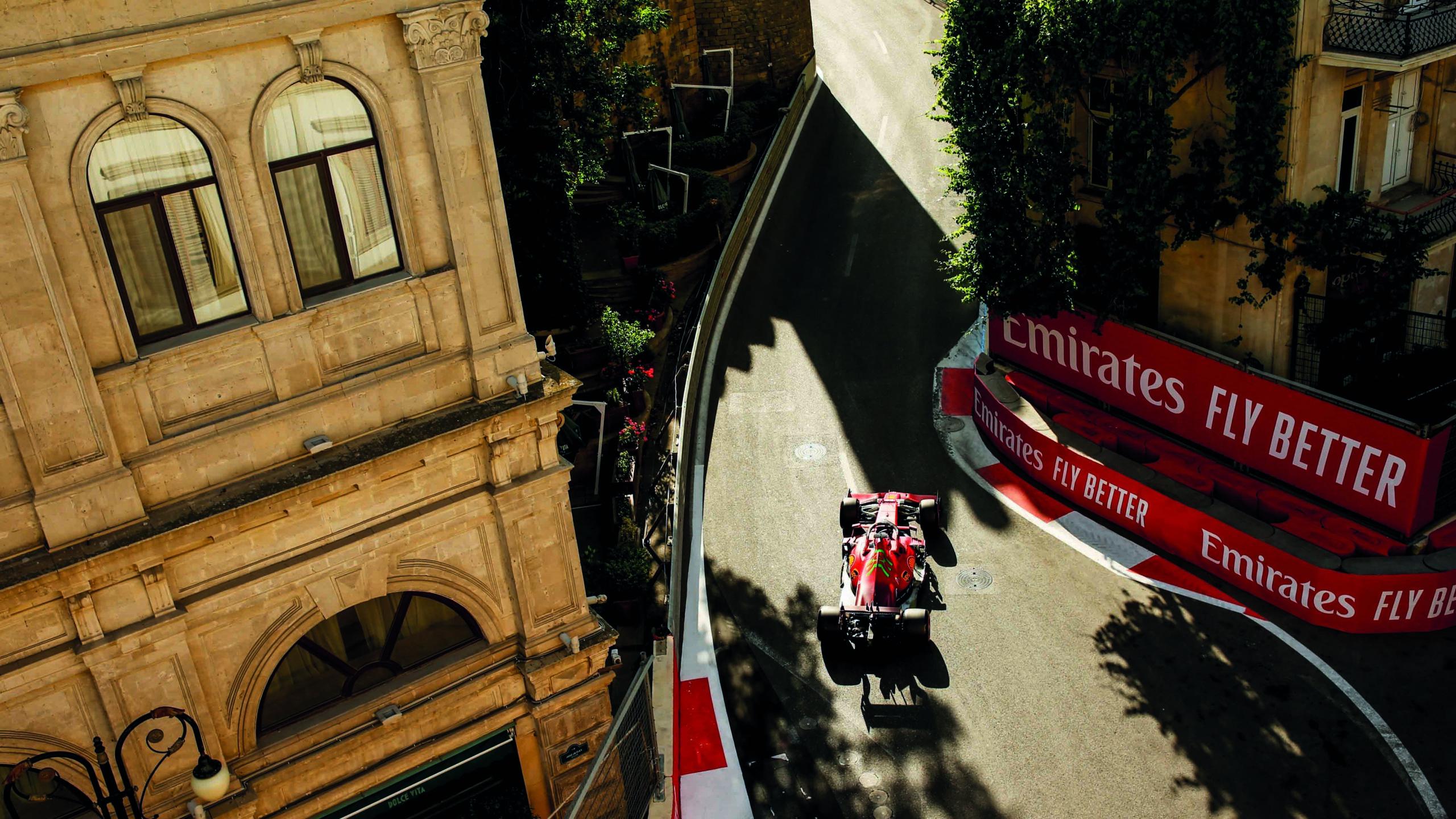 Charles-Leclerc-in-Baku-old-town-during-the-2021-Azerbaijan-Grand-Prix