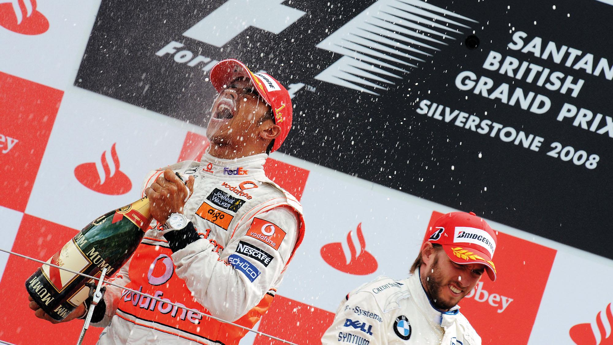 Lewis Hamilton 2008 British Grand Prix