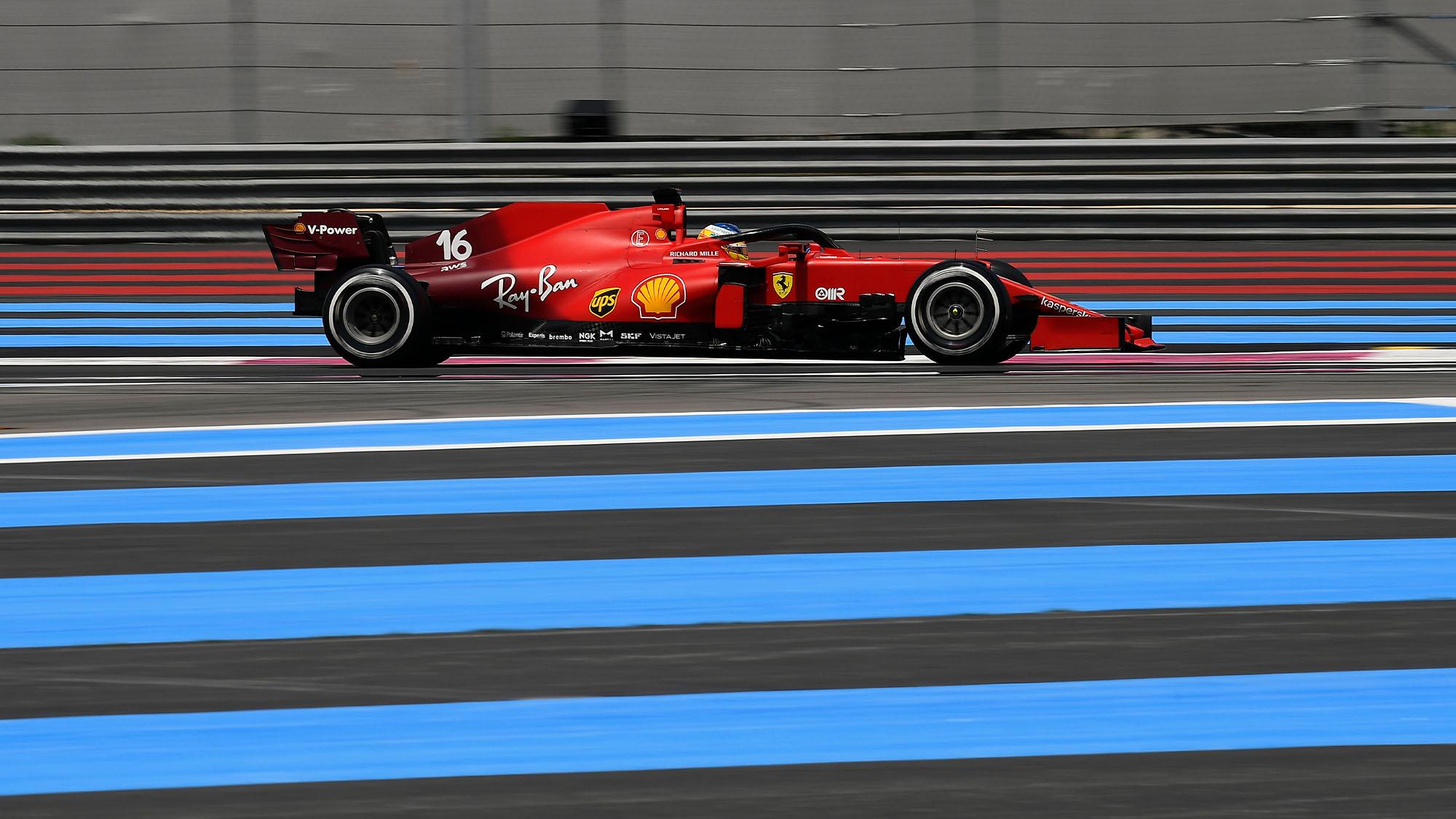 Leclerc French GP 2021
