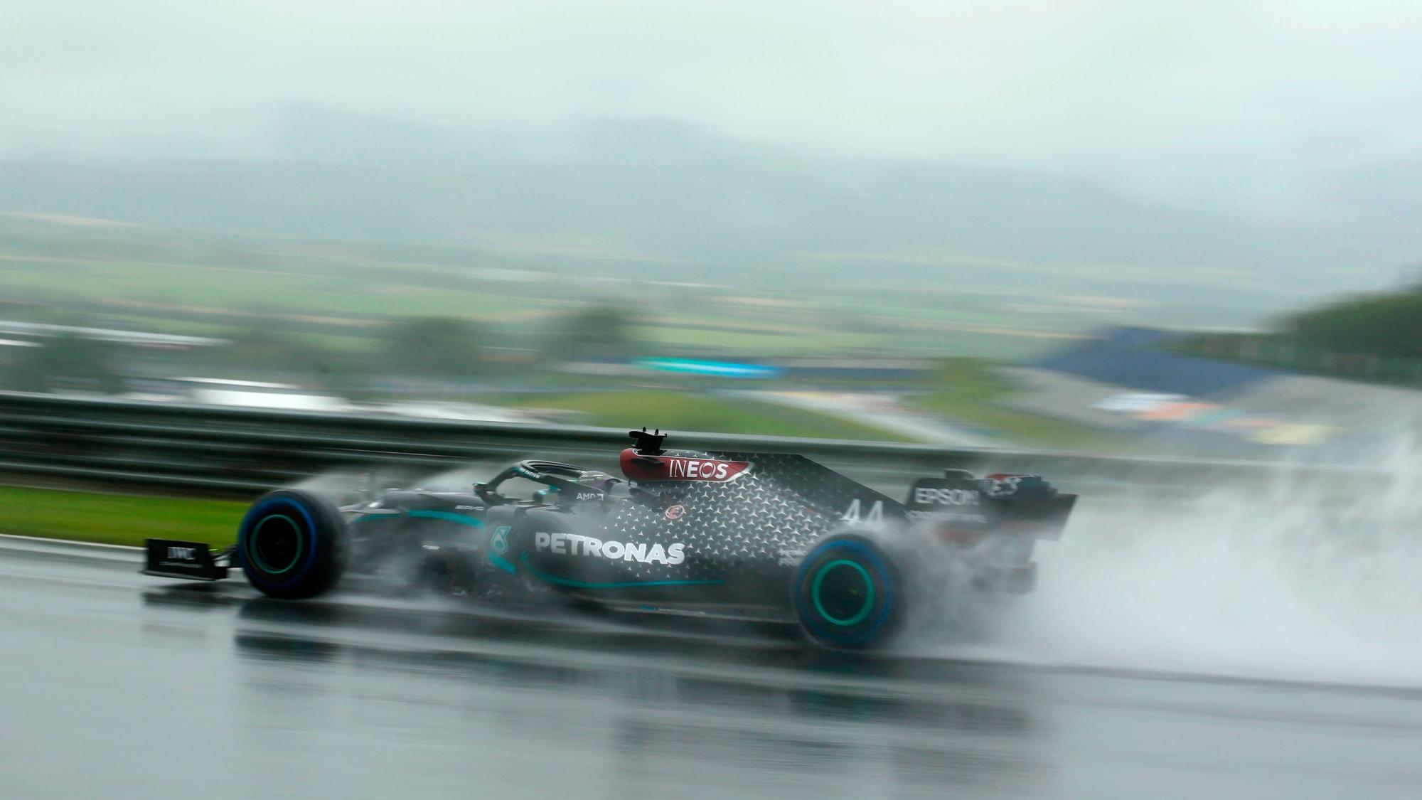 Lewis Hamilton, 2020 Styrian GP Qualifying