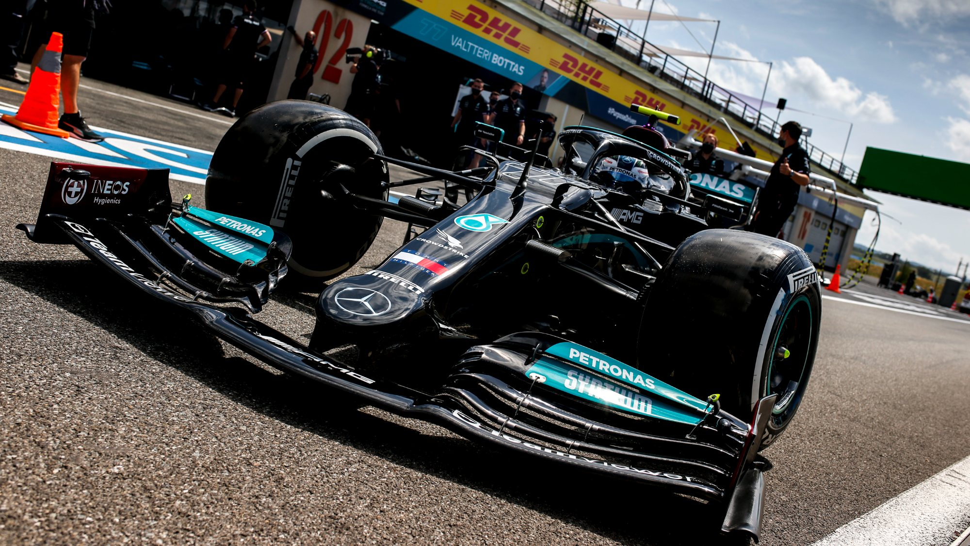 Valtteri Bottas, 2021 Merc French GP