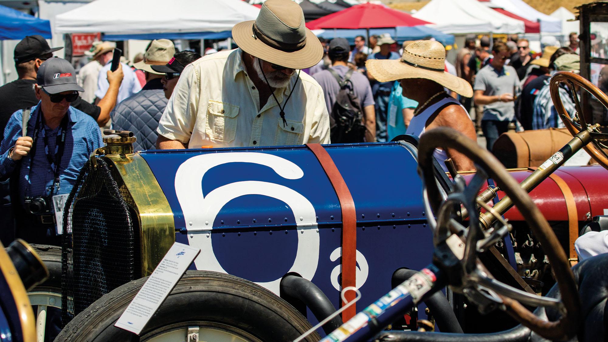 Monterey Motorsports Reunion vintage car