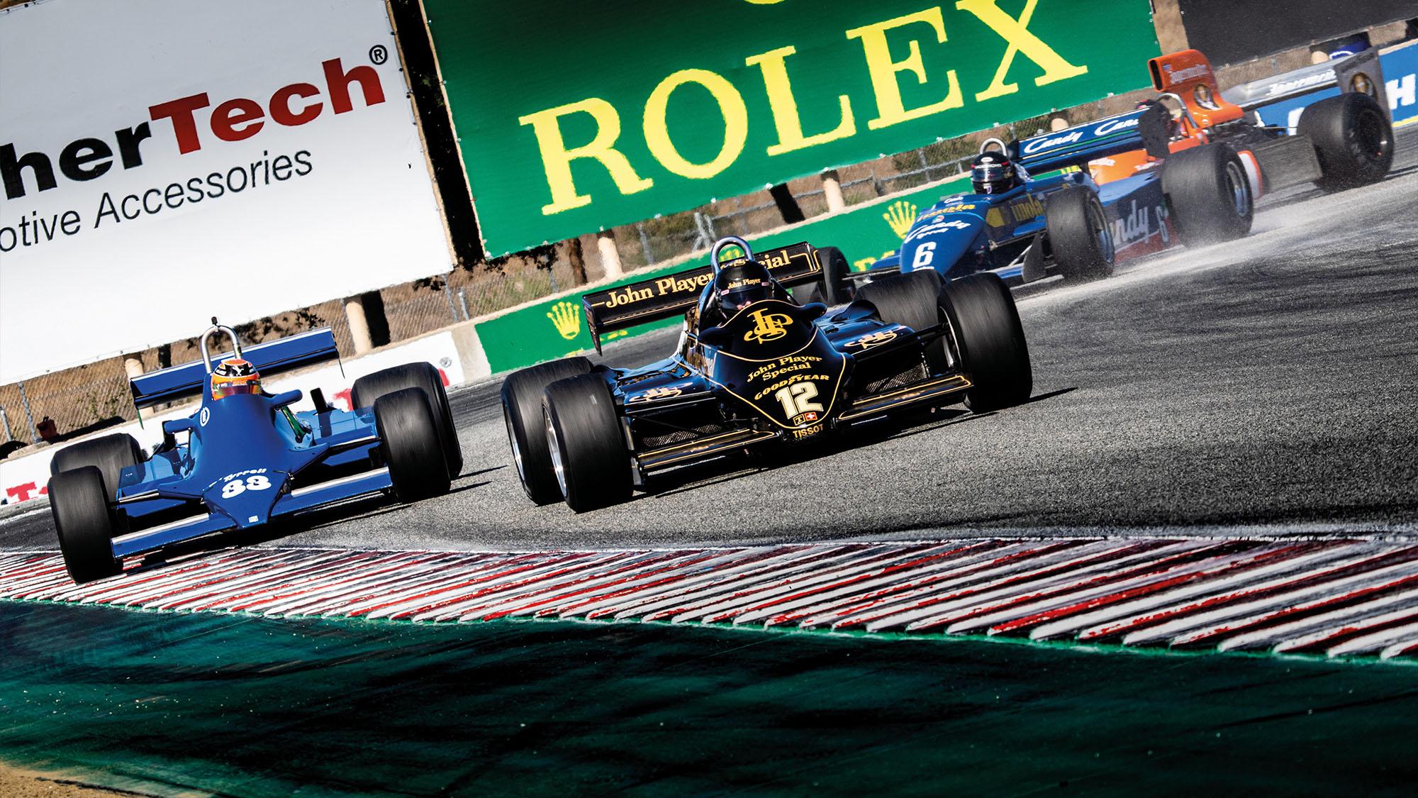 Monterey Motorsports Reunion historic F1