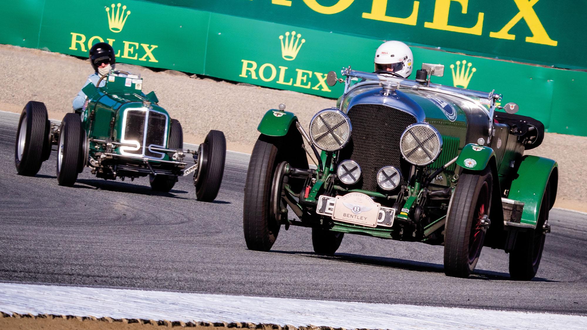 Monterey Motorsport Reunion Bentley