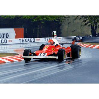 Product image for Monaco GP, 11 May 1975 | Niki Lauda | Ferrari 312T