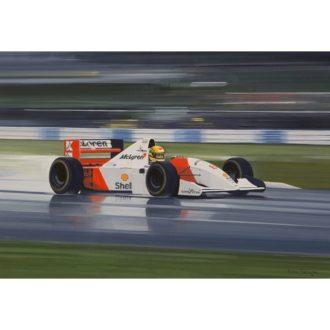 Product image for Donington Park, 11 April 1993 | Ayrton Senna | McLaren MP4/8