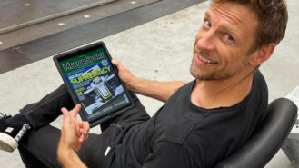 Jenson Button names his greatest moments in racing history from the Motor Sport Archive
