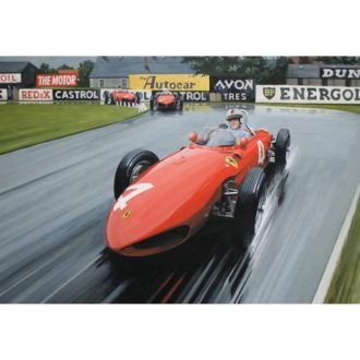Product image for British GP, Aintree, 15 July 1961 | 'Taffy' von Trips | Ferrari 156 'Sharknose'