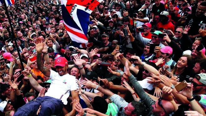 Full crowd at the British GP feels 'premature', says Hamilton
