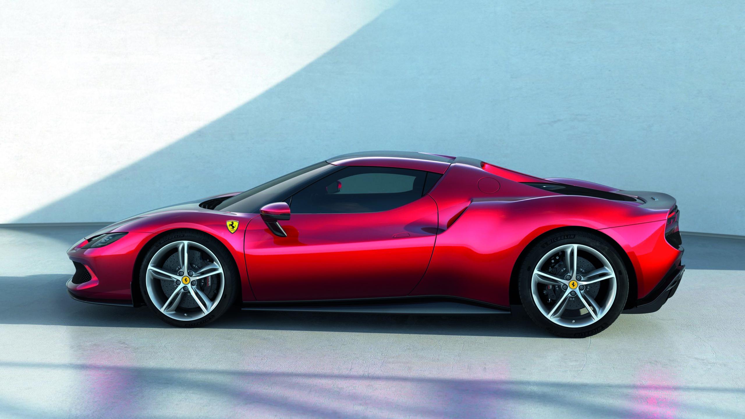 Ferrari-296GTB-side