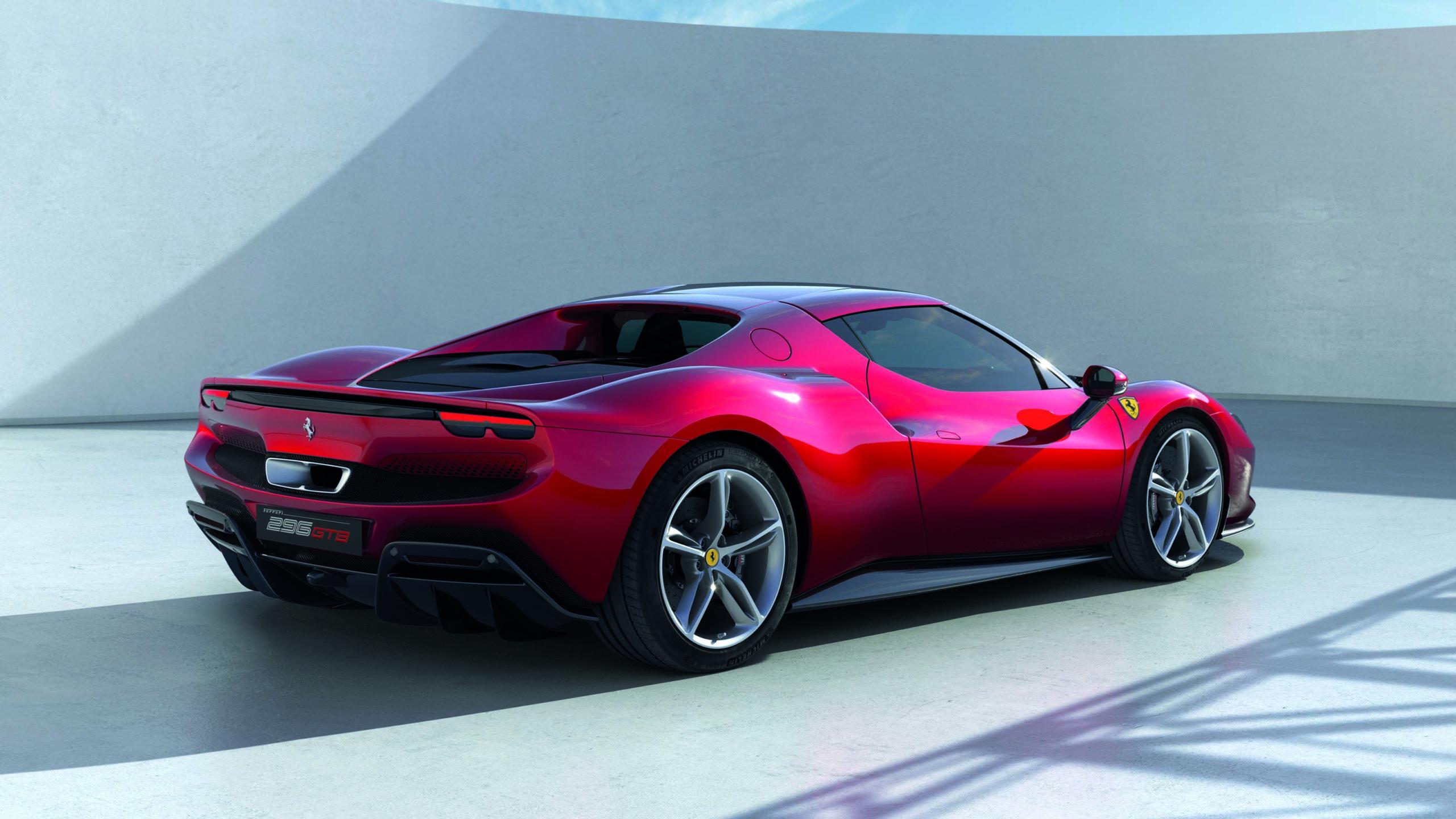 Ferrari-296GTB-rear