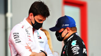 Wolff says Bottas needs to 'minimise off weekends' as threat of Russell looms