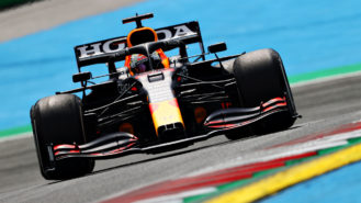 Verstappen sets searing pace with Ricciardo second: Styrian GP practice round-up
