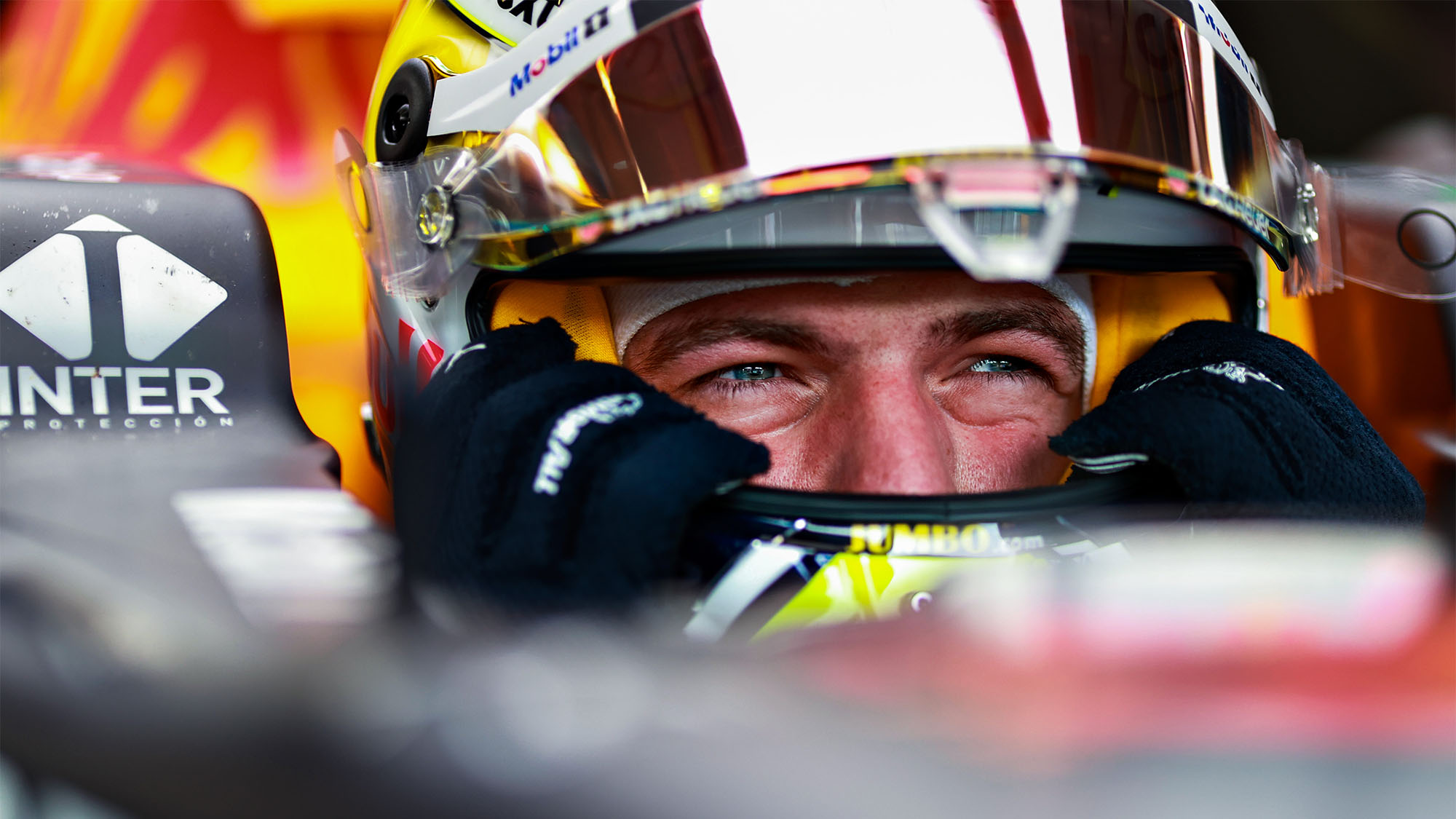 SPIELBERG, AUSTRIA - JUNE 25: Max Verstappen of Netherlands and Red Bull Racing prepares to drive in the garage during practice ahead of the F1 Grand Prix of Styria at Red Bull Ring on June 25, 2021 in Spielberg, Austria. (Photo by Mark Thompson/Getty Images)