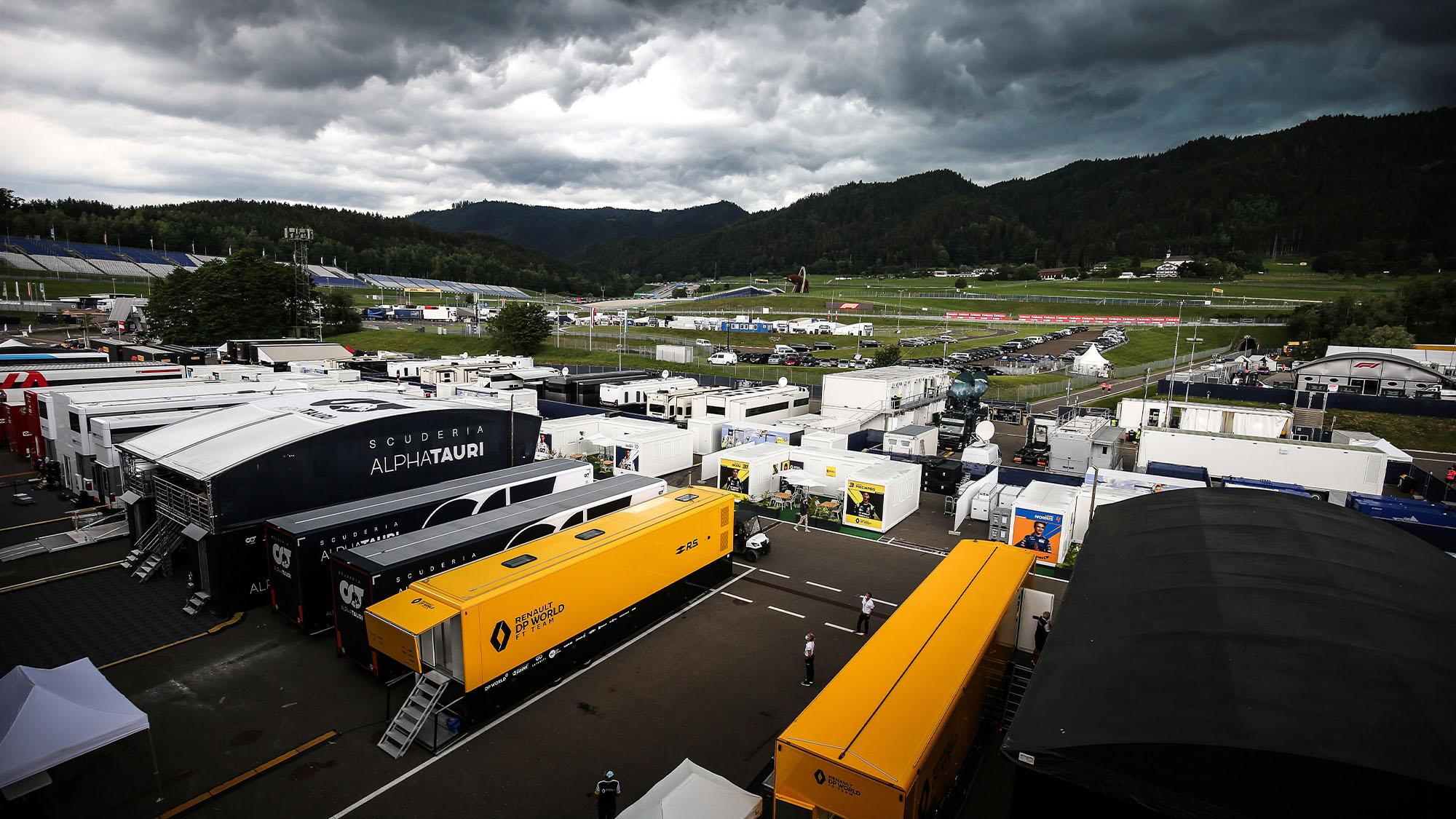 Austria paddock 2020