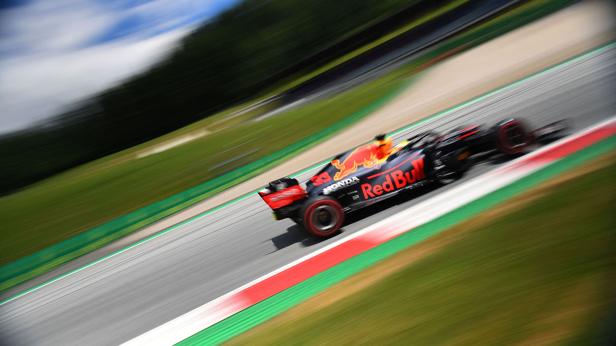 Max Verstappen in practice for the 2021 Styrian Grand Prix