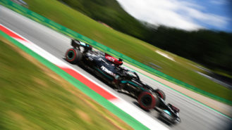 Hamilton tops timesheets for final session: Styrian GP practice round-up