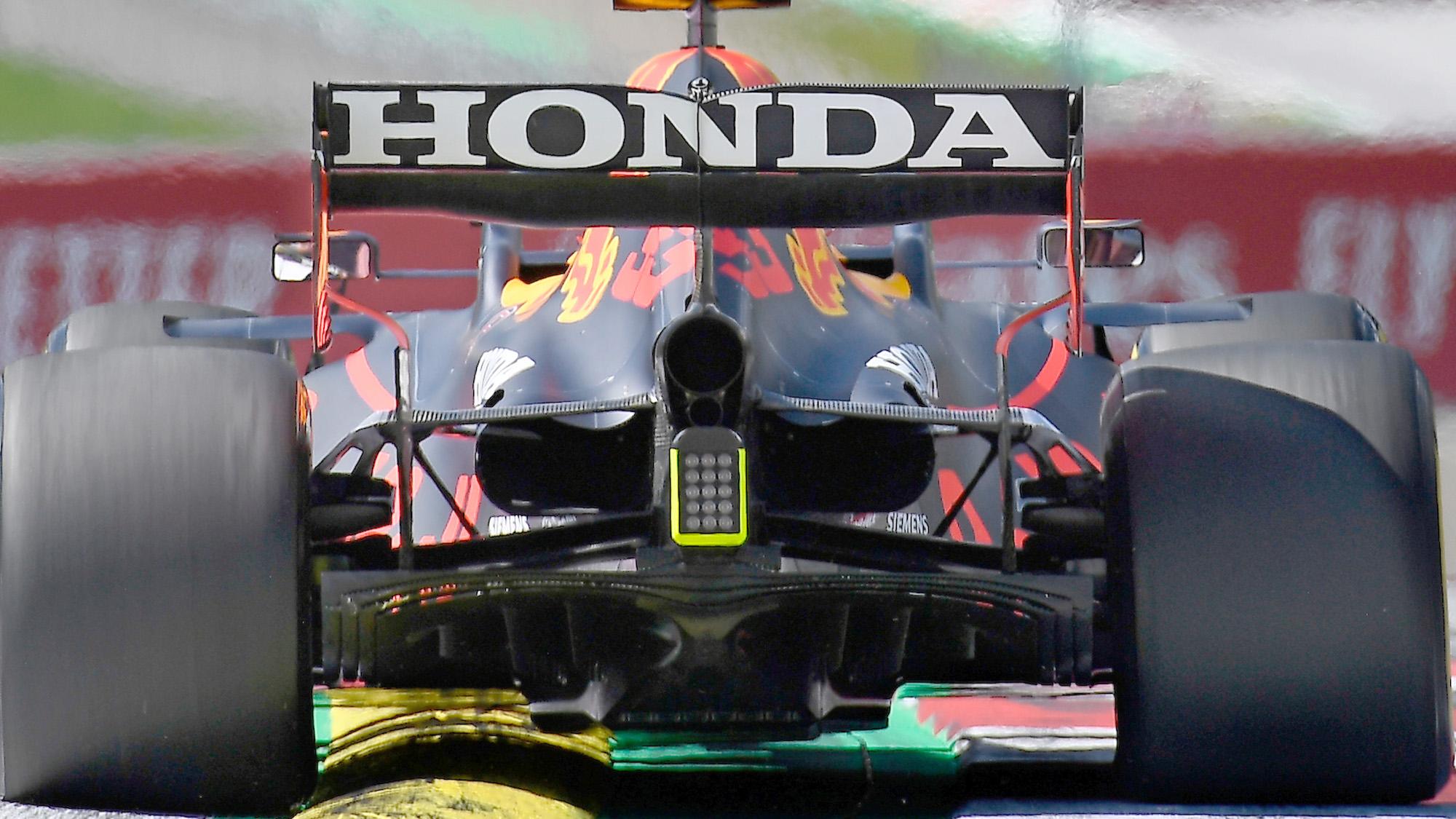 Honda rear diffuser 2021 Styrian GP