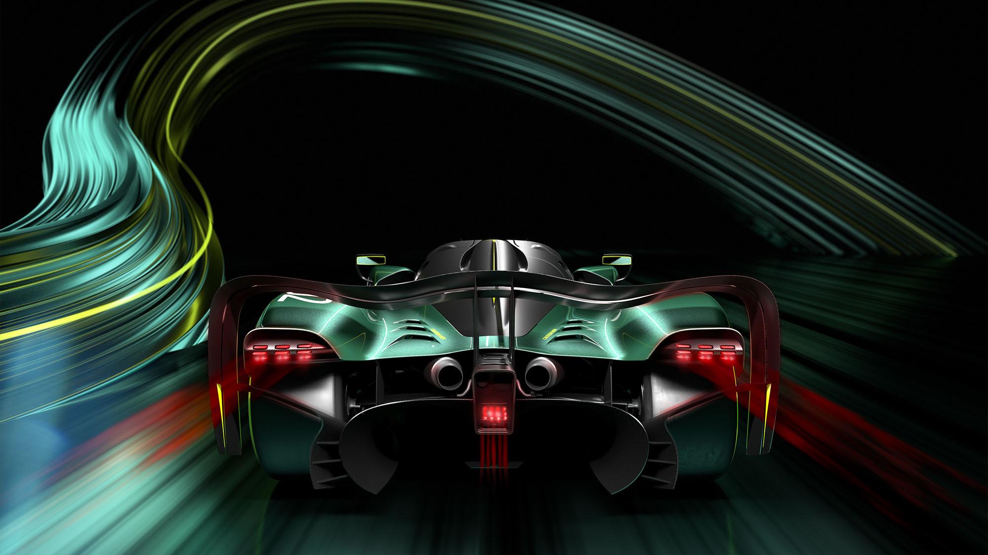 Aston Martin Valkyrie AMR Pro rear