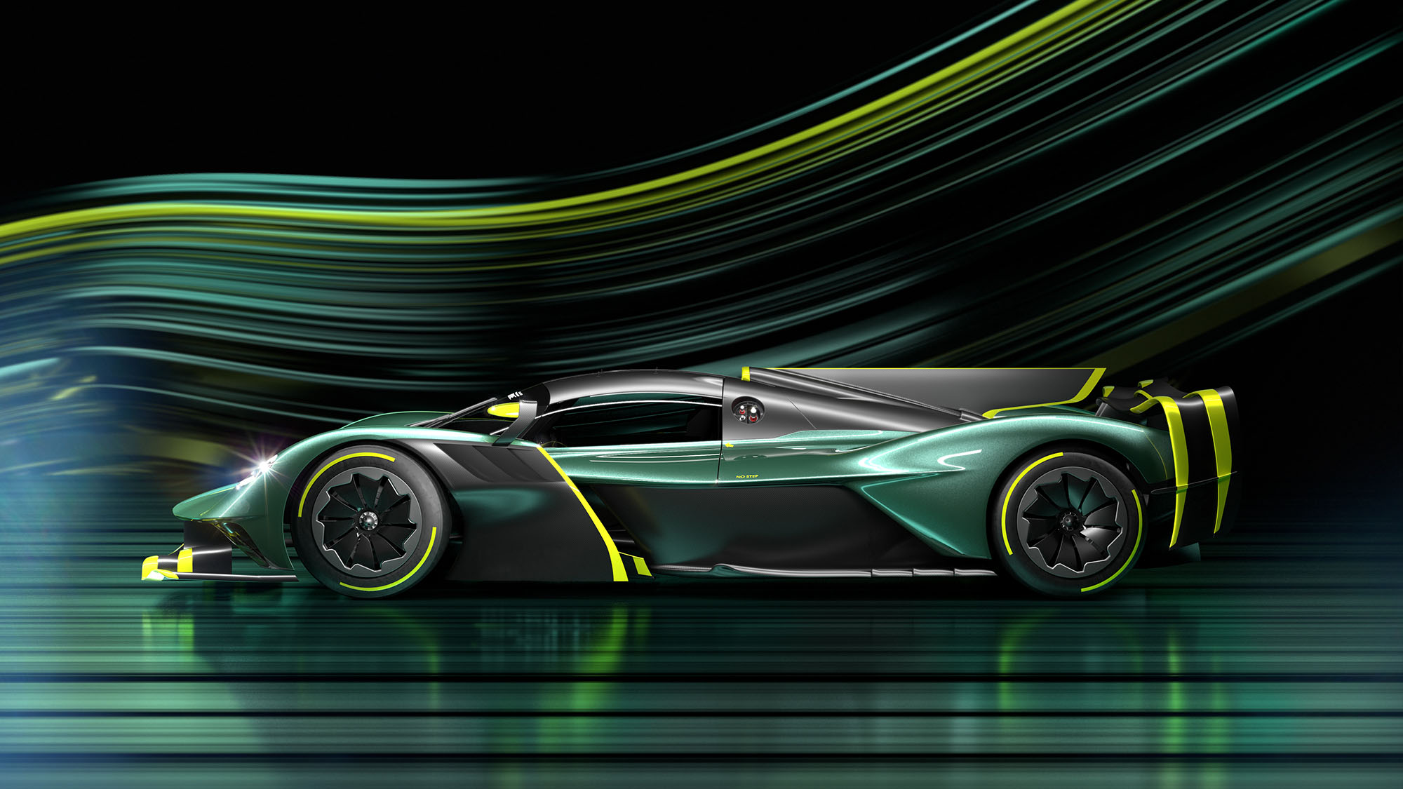 Aston Martin Valkyrie AMR Pro side