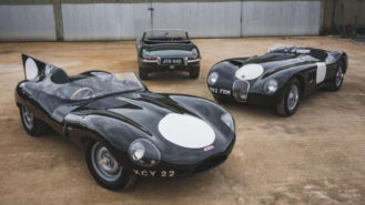 Jaguar's greatest hits? C-, D-, and E-type collection goes up for sale