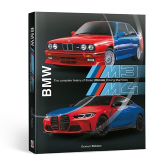Product image for BMW M3 & M4: The complete history of these ultimate driving machines   Graham Robson   Hardback