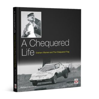 Product image for A Chequered Life – Graham Warner and The Chequered Flag | Richard Heseltine | Hardback