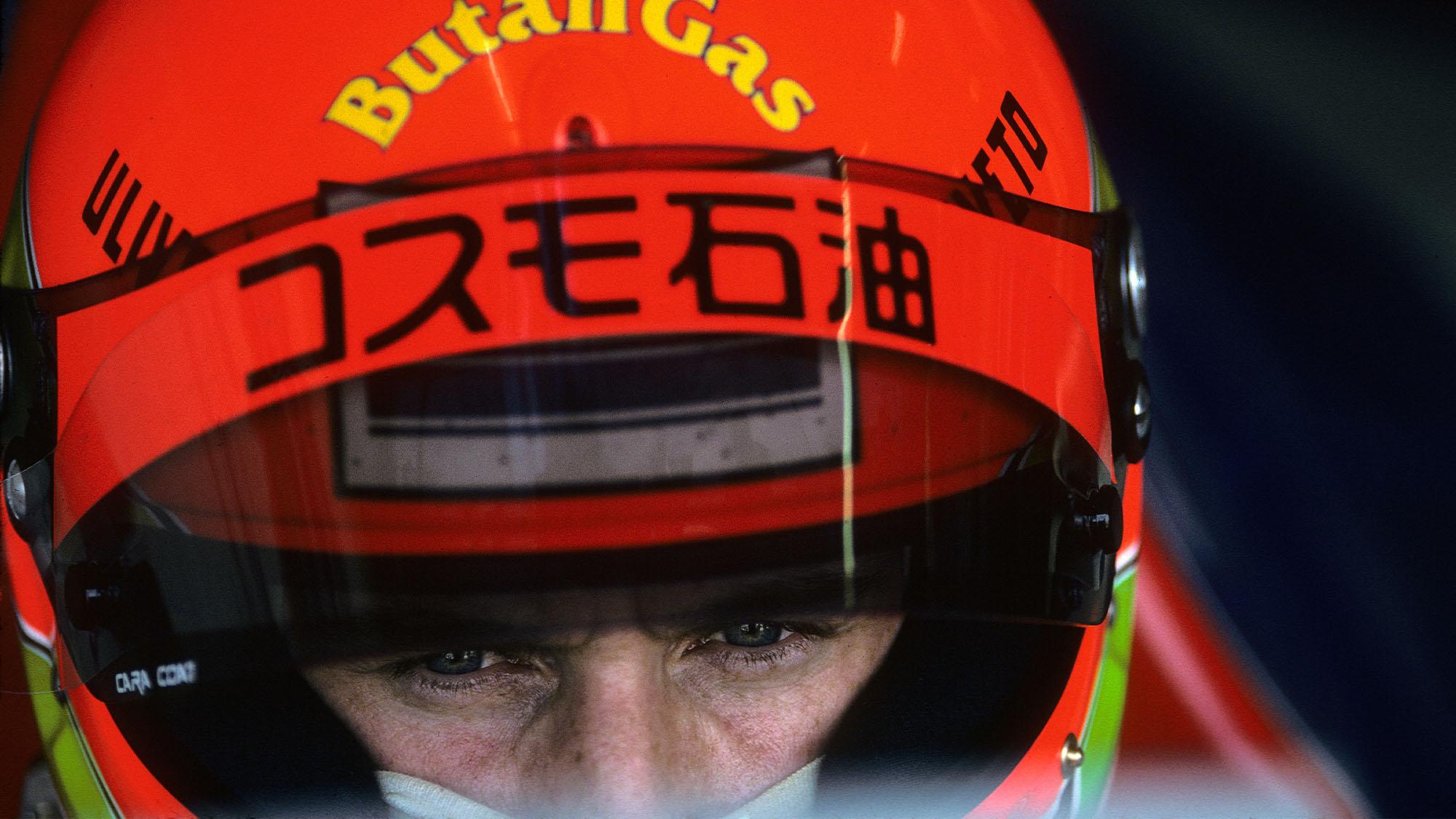 Eddie Irvine, Jordan-Hart 193, Grand Prix of Japan, Suzuka Circuit, 24 October 1993. (Photo by Paul-Henri Cahier/Getty Images)