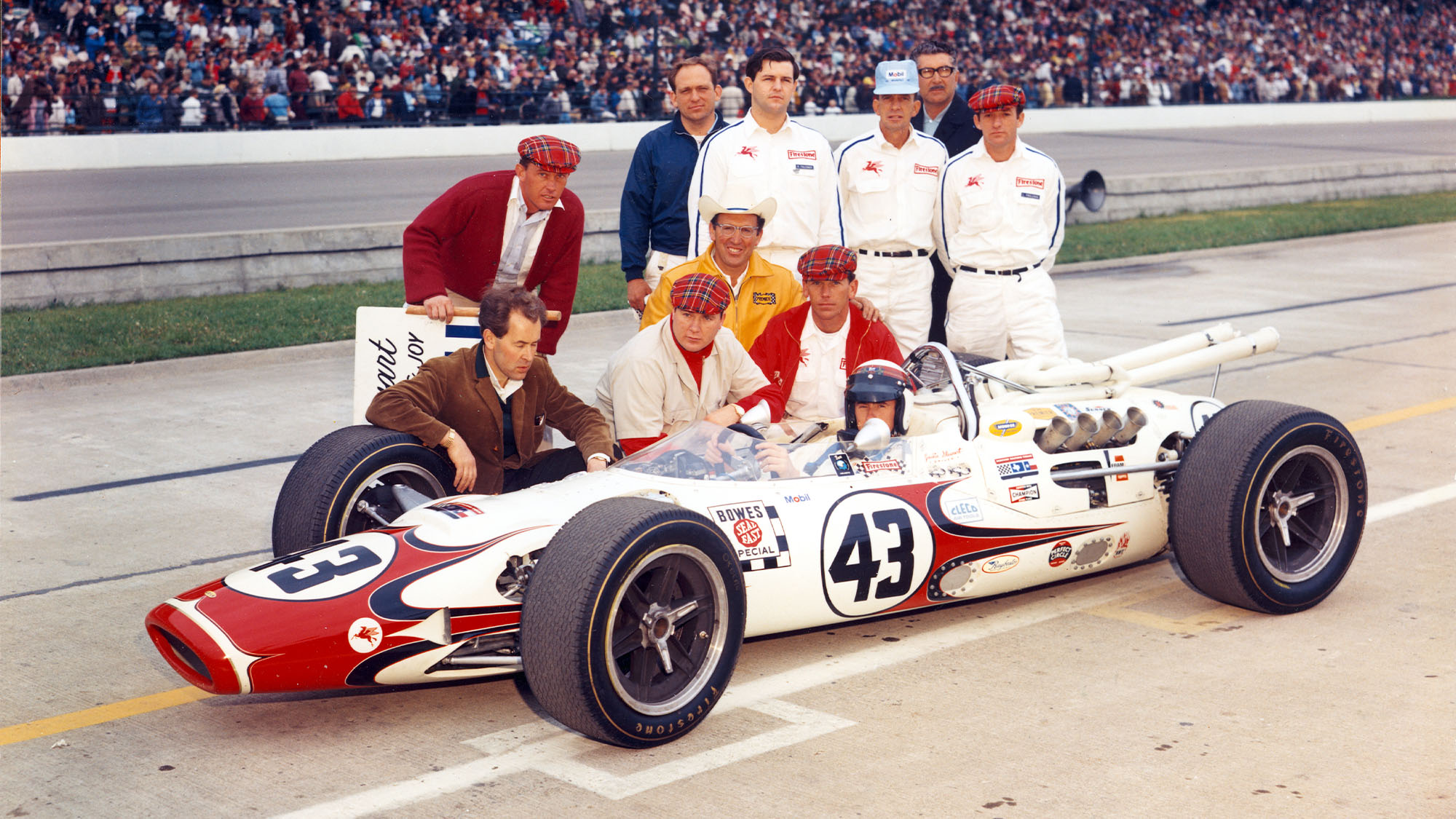 Jackie Stewart 1966 Indy 500