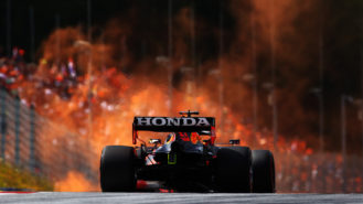 Orange army expectant as Verstappen sneaks pole: 2021 Austrian GP qualifying