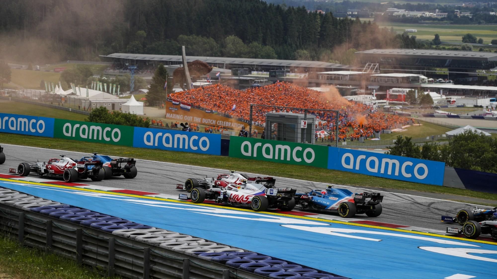 Esteban Ocon, 2021 Austrian GP