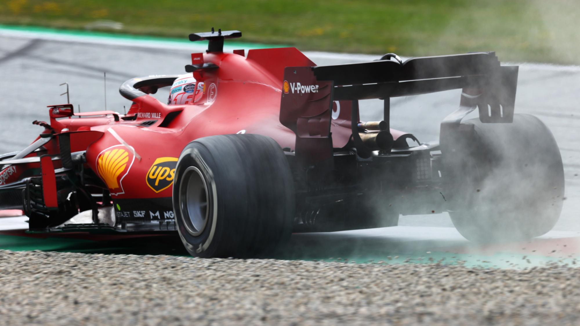 Charles Leclerc, 2021 Austrian GP