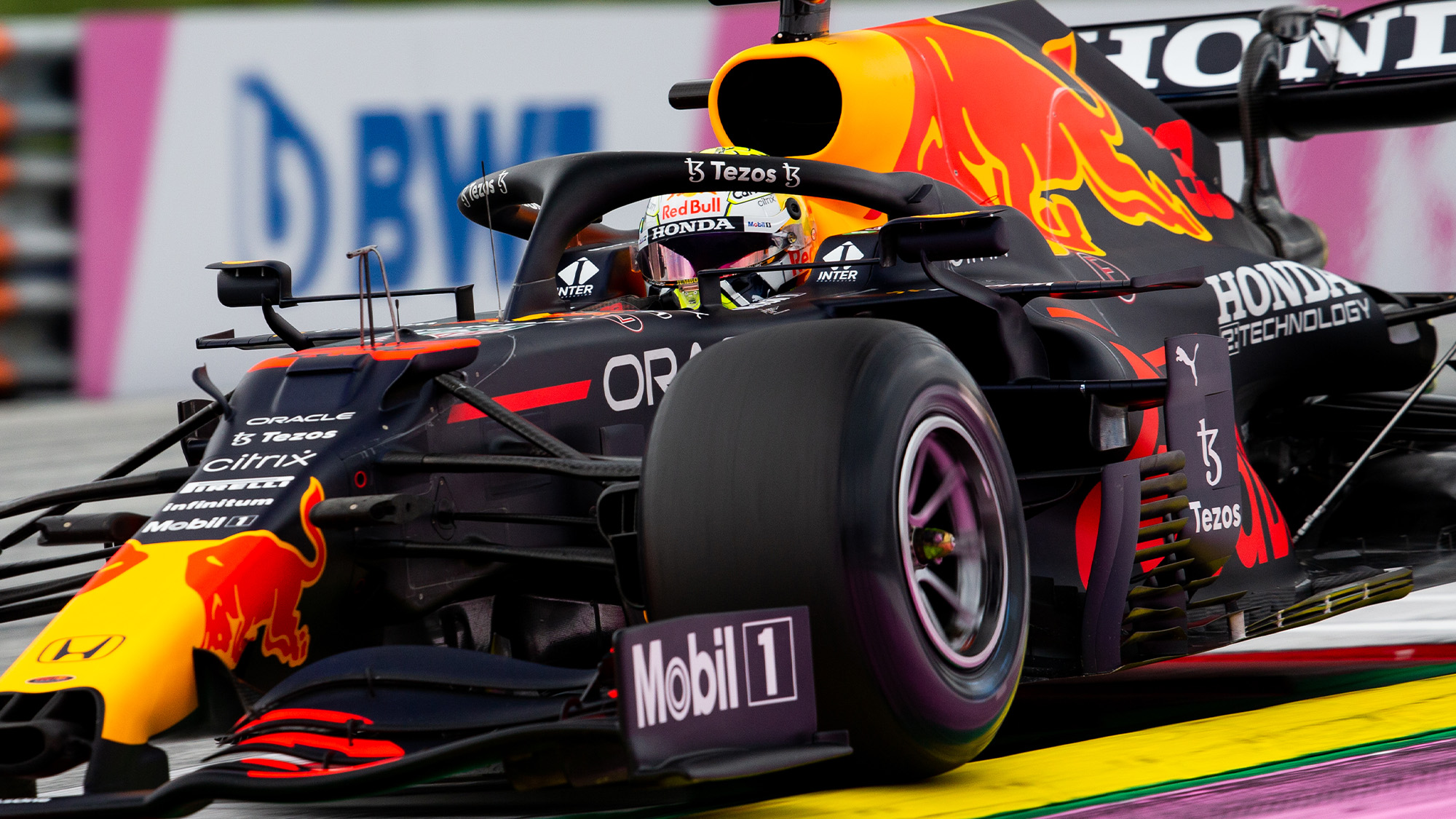 Side of Red Bull at 2021 Austrian Grand Prix