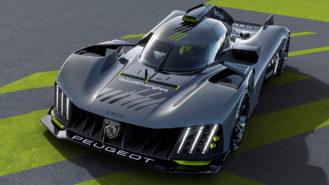 Peugeot reveals radical 9X8 Le Mans Hypercar for 2022 WEC entry