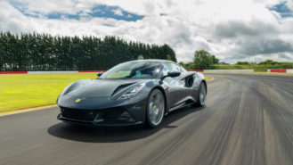 The Lotus Emira has more than weight to worry about against its closest rivals