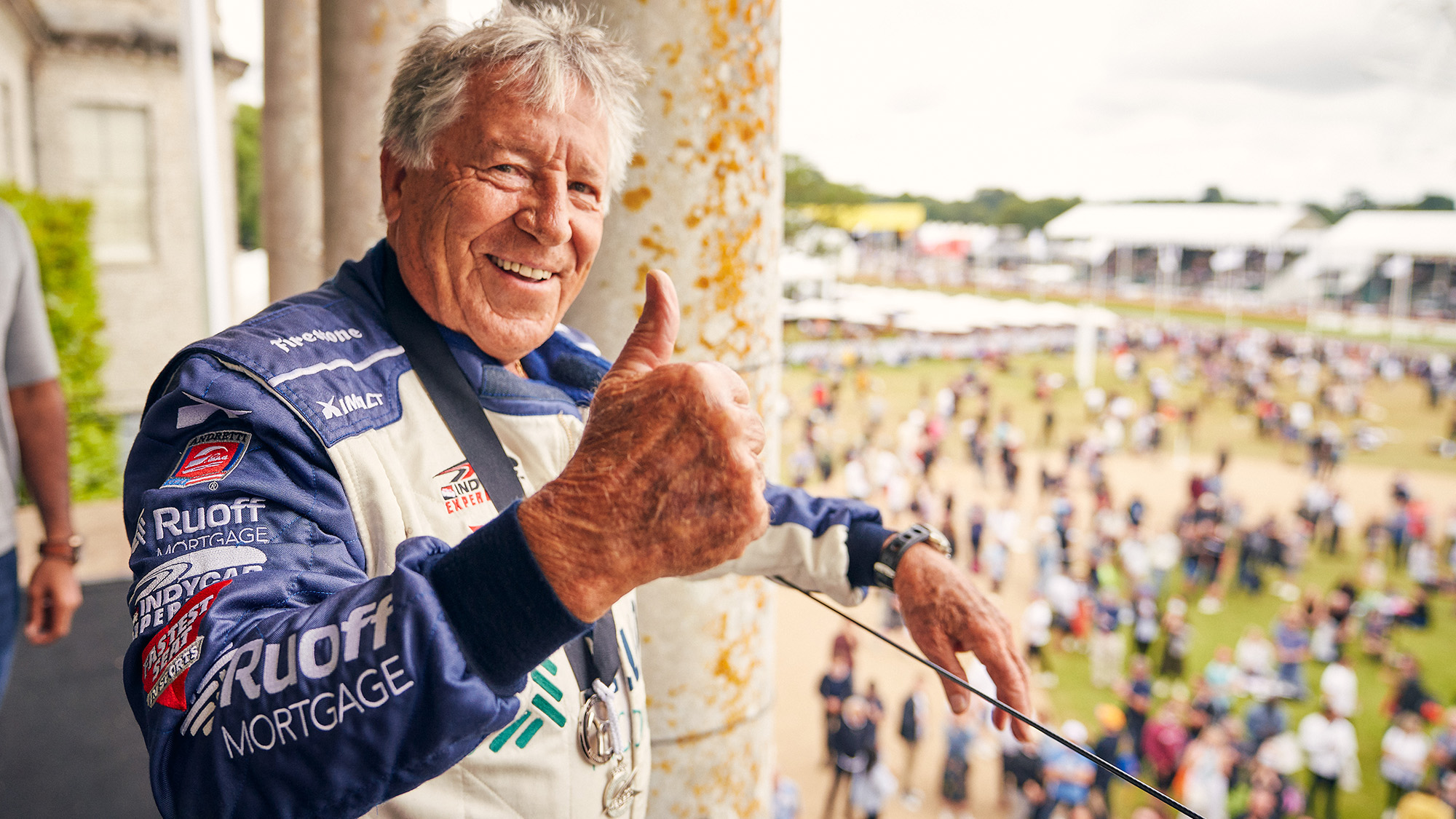 Mario Andretti at the 2021 Goodwood Festival of Speed