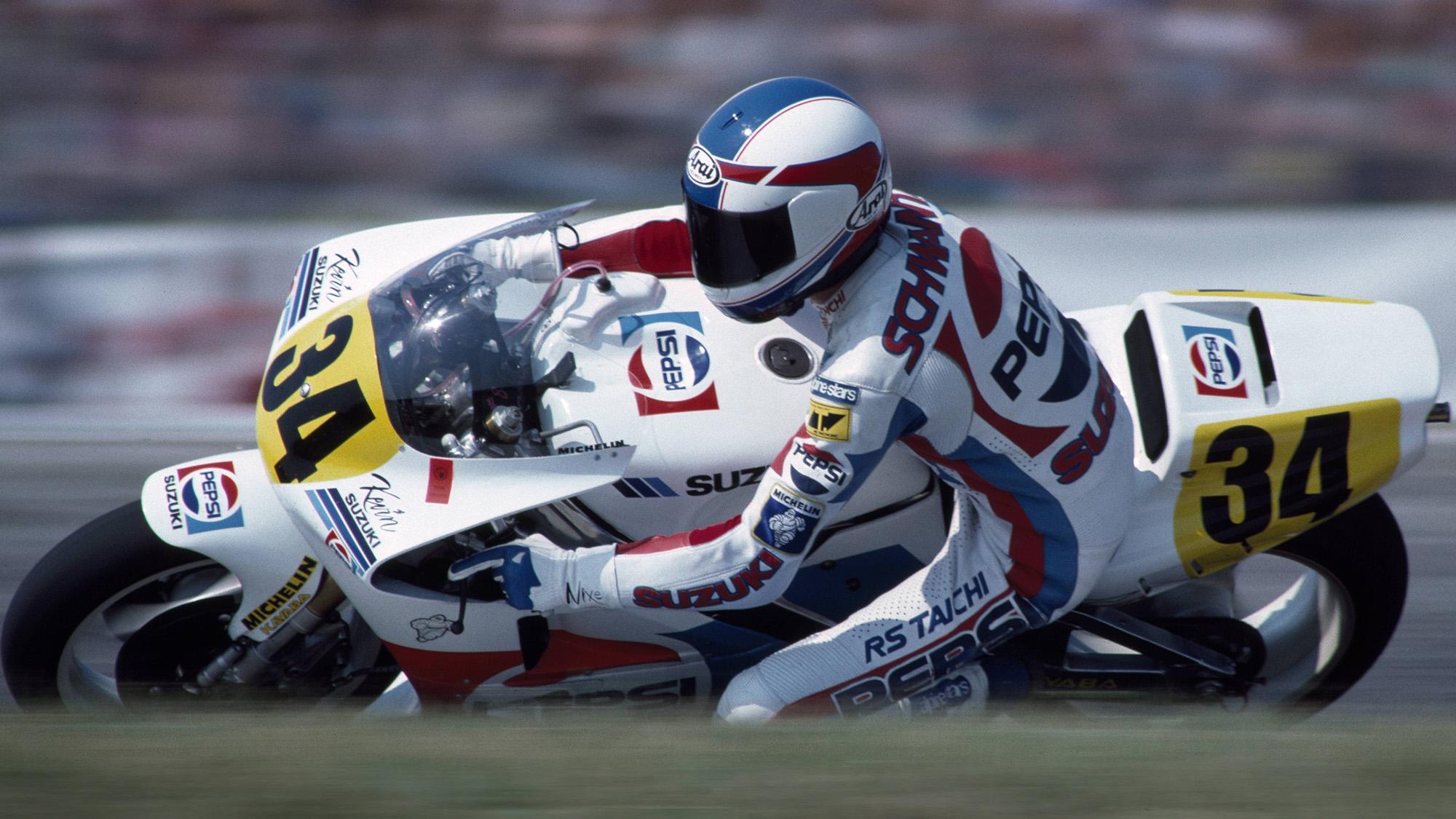 Kevin Schwantz 1989 Pepsi Suzuki