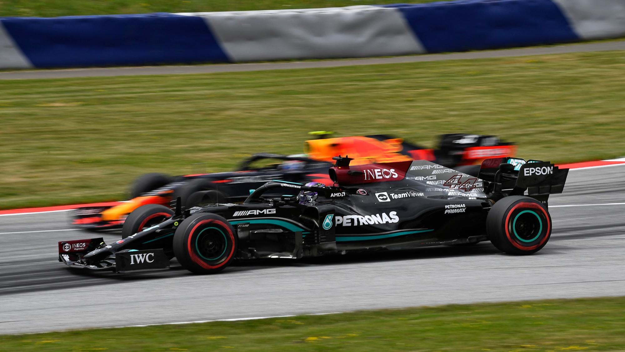 Lewis hamilton, 2021 Austrian GP