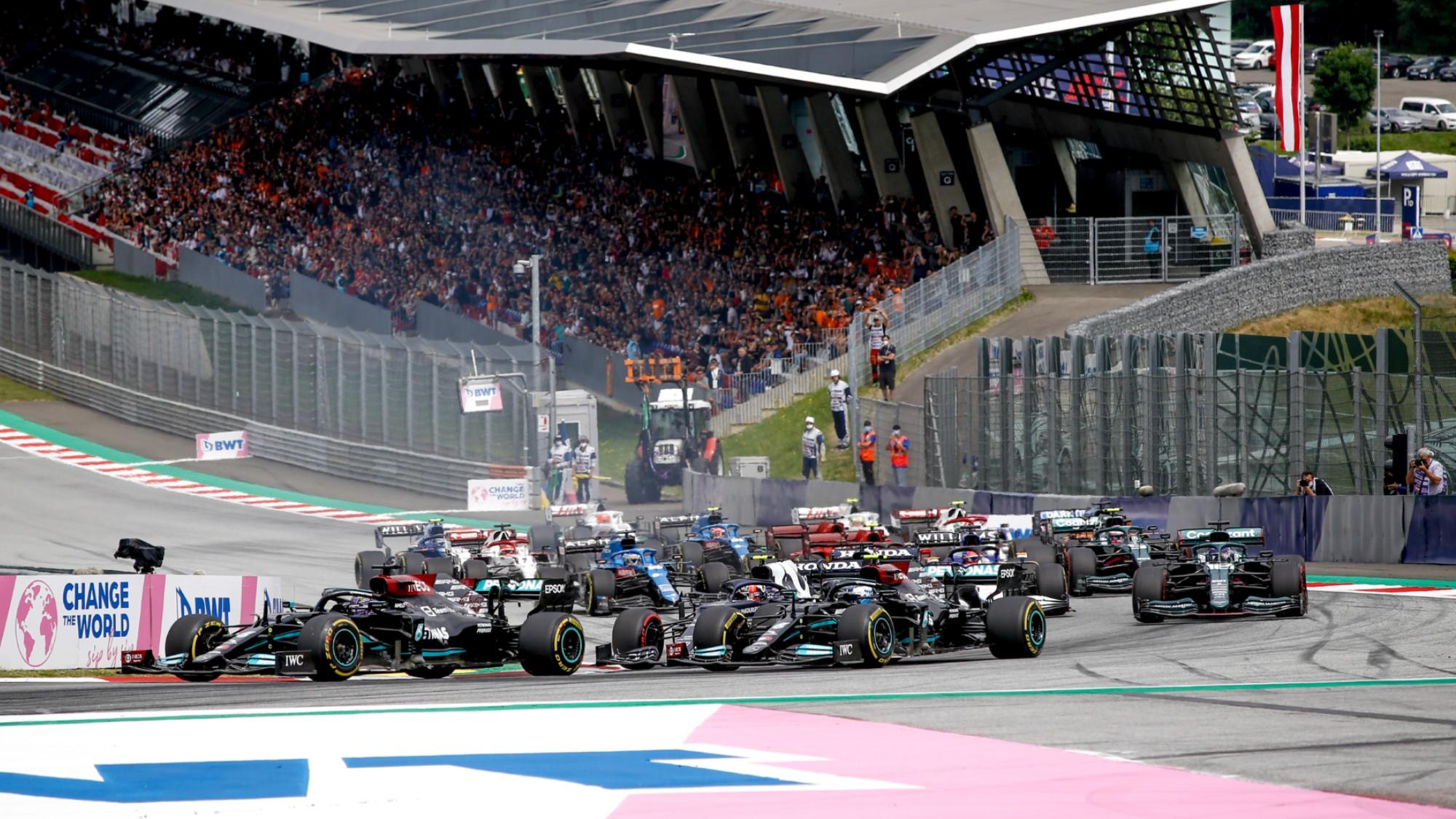F1 2021 Austrian GP start