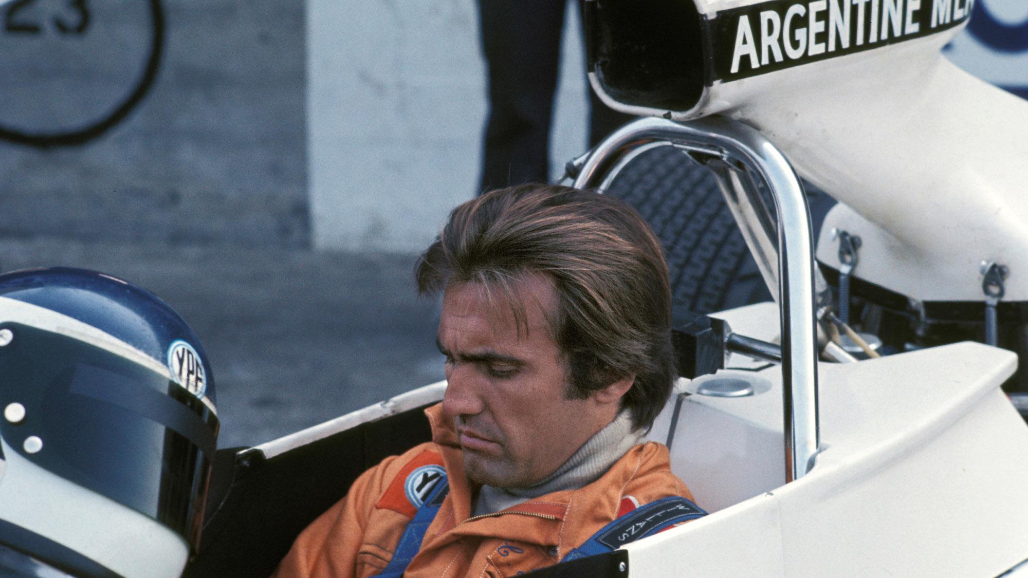 Carlos Reutemann in his Brabham ford in 1972