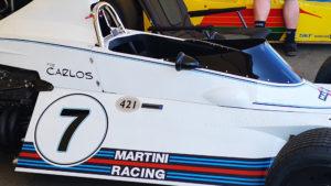 Brabham BT44B at 2021 Goodwood Festival of Speed