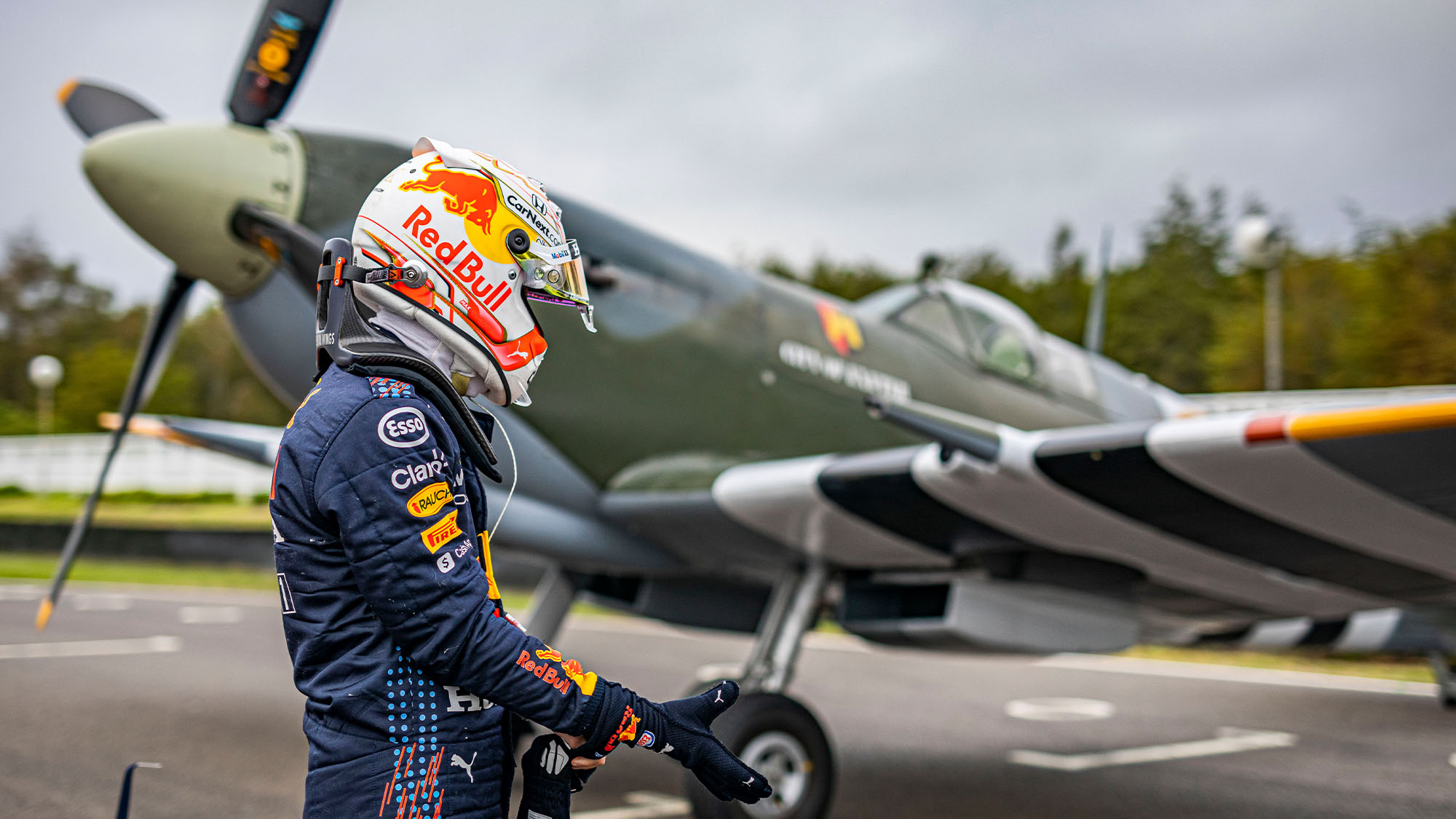Red Bull spitfire
