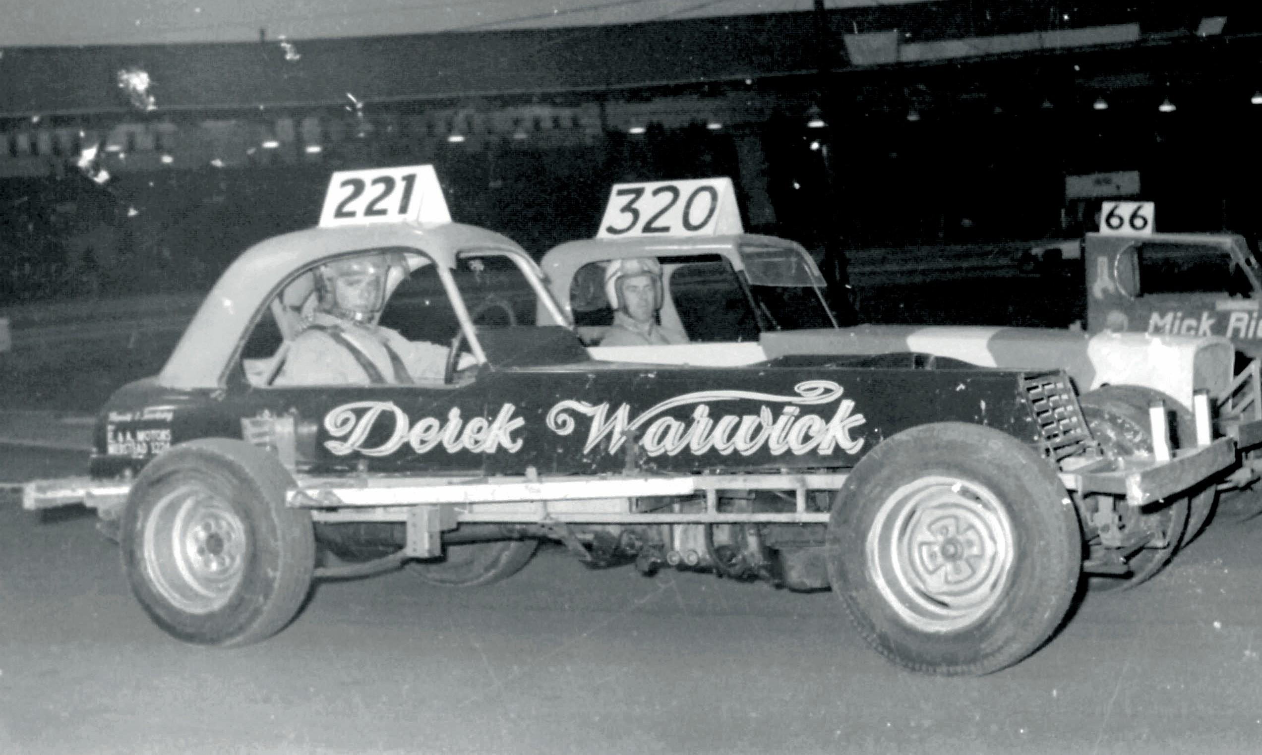 Derek Warwick and Dave Pierce in Superstox