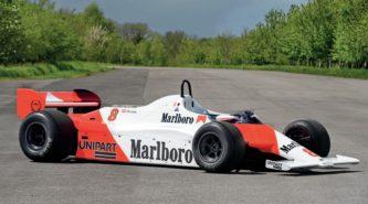 McLaren MP4-1B for sale: Laudable qualities