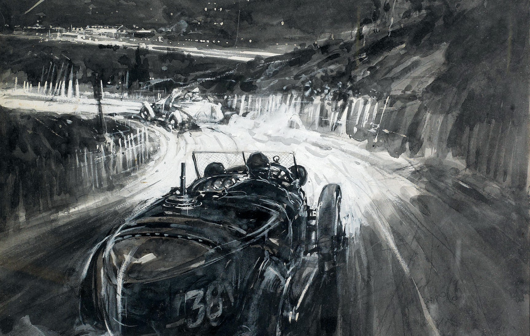 1924 Lyons Grand Prix by Frederick Gordon Crosby