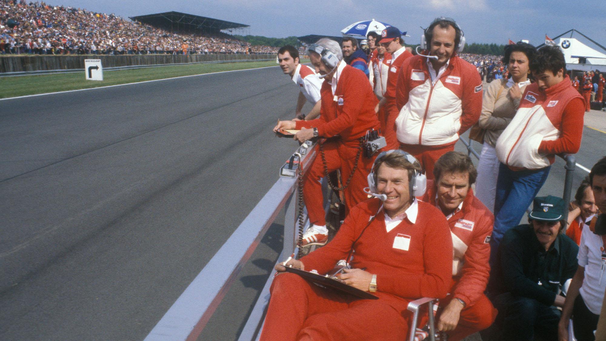 Dennis mcLaren team 1981 team