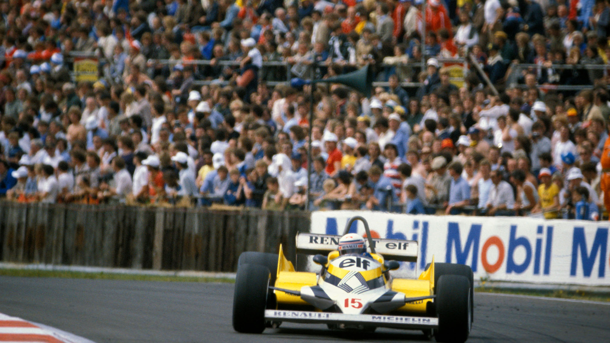 1981 British GP Alain Prost