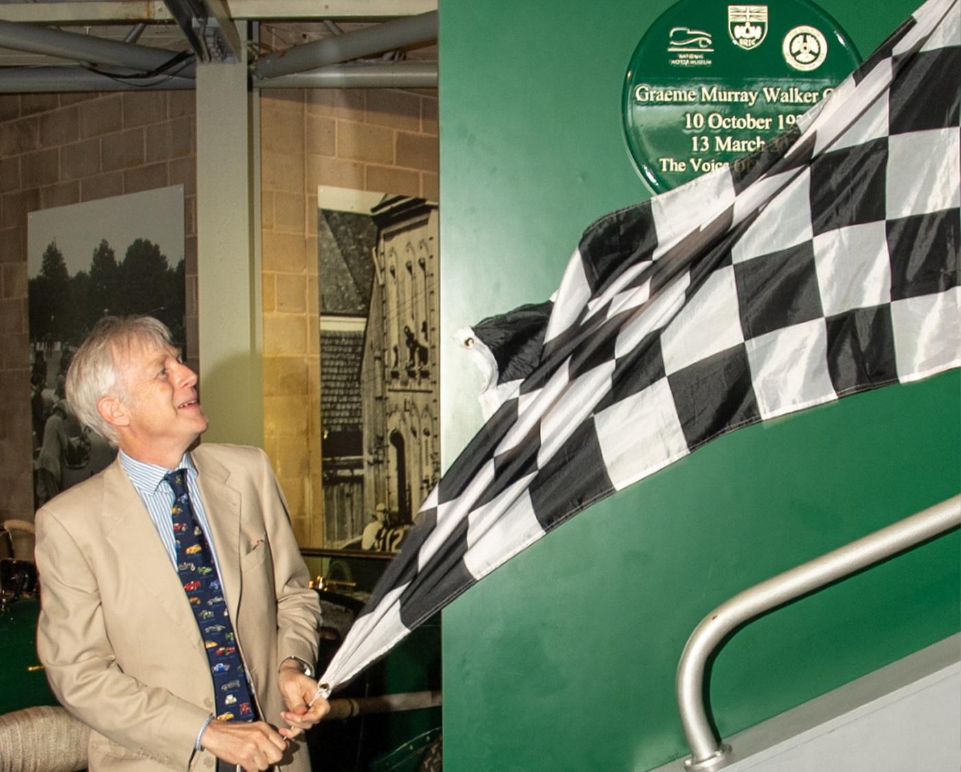 Murray Walker plaque unveil
